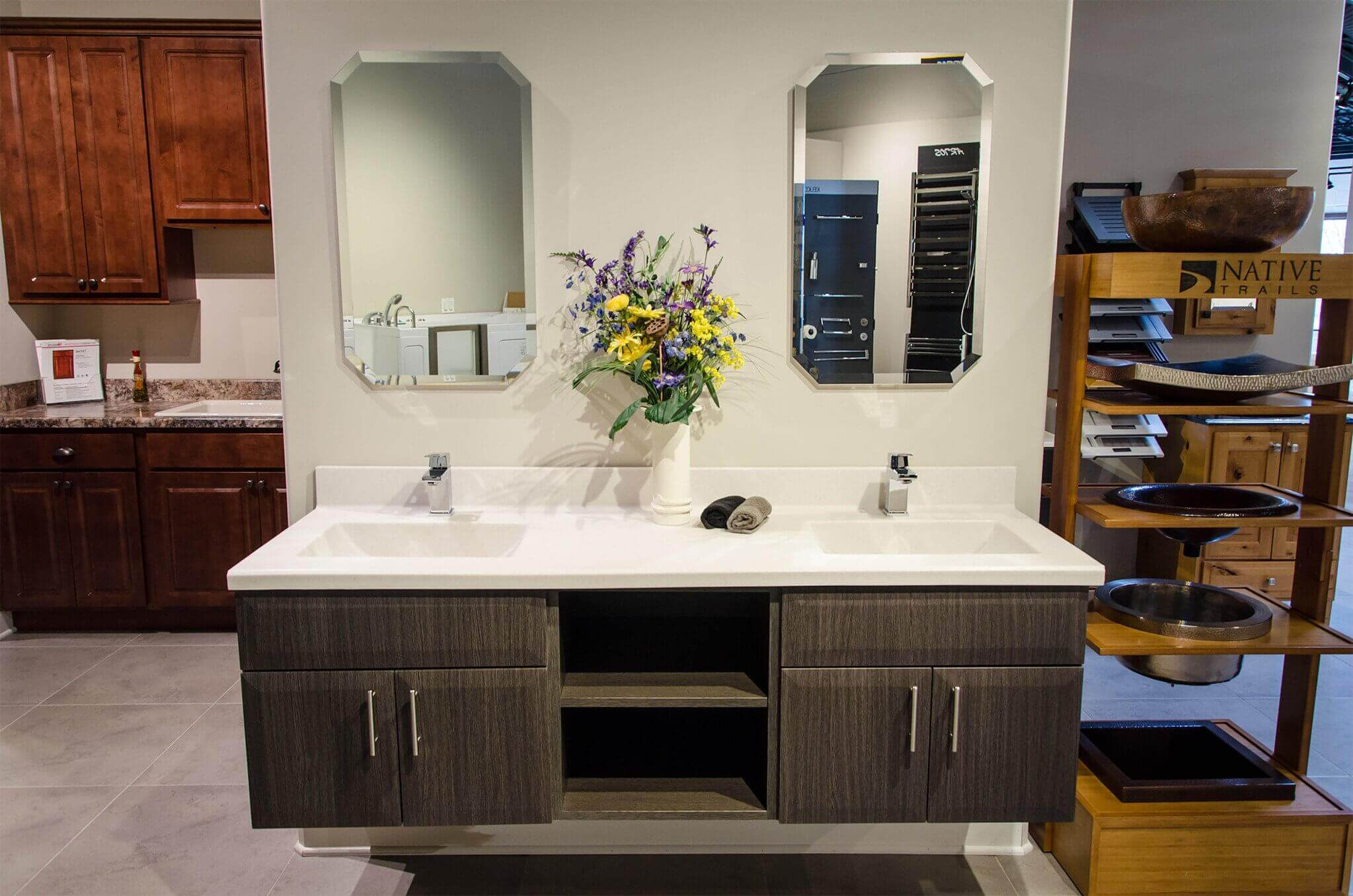Custom Bathroom Vanities Naperville studio41 home design showroom | locations | schaumburg